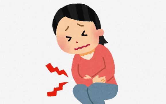 後陣痛の痛み